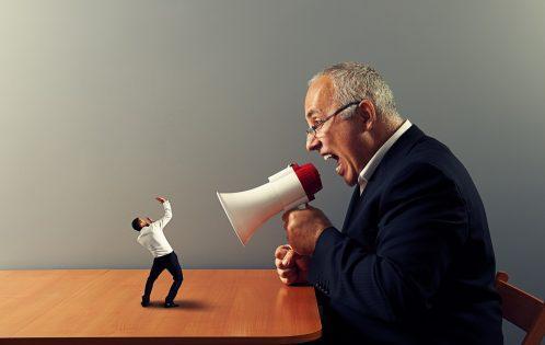 złe zachowania szefa
